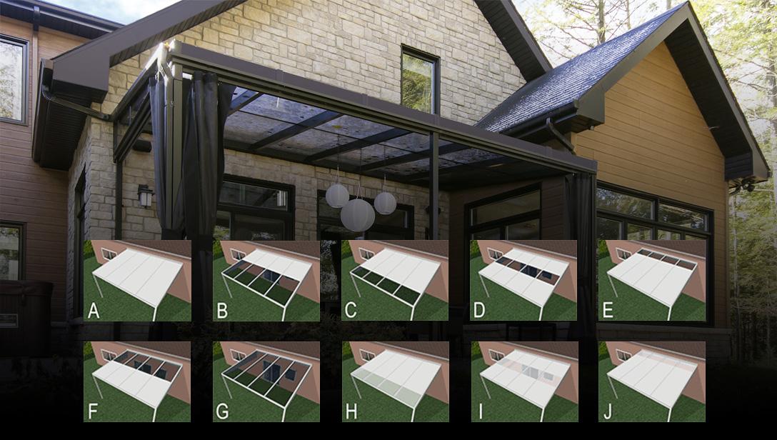 auvent standard et sur mesure montr al qu bec. Black Bedroom Furniture Sets. Home Design Ideas